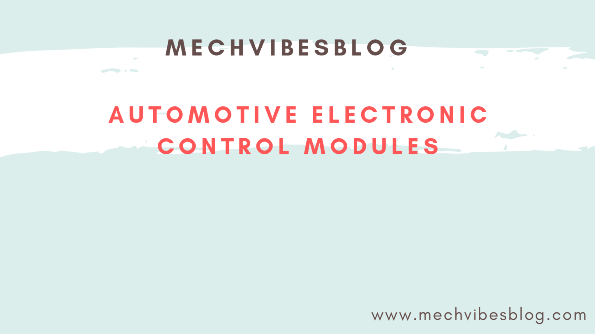 Automotive-Electronic-Modules