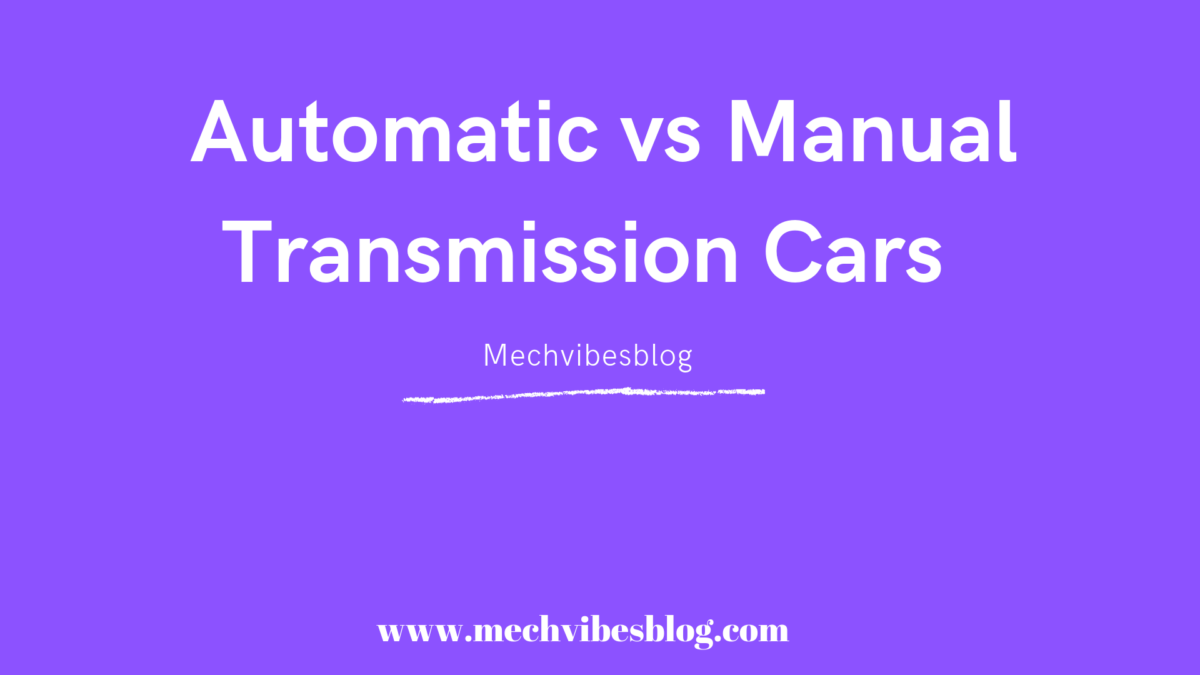 Automatic-vs-manual-transmission